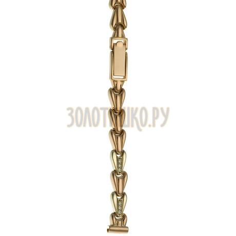 Золотой браслет для часов (8 мм) 3161025