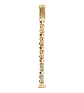 Золотой браслет для часов (8 мм) 3161065