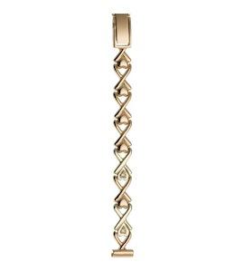 Золотой браслет для часов (8 мм) 316119