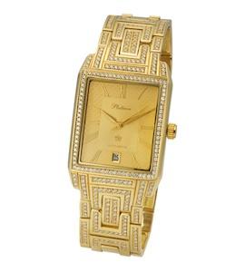 Мужские золотые часы модель 31911.421