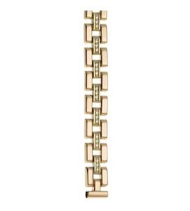 Золотой браслет для часов (10 мм) 326580