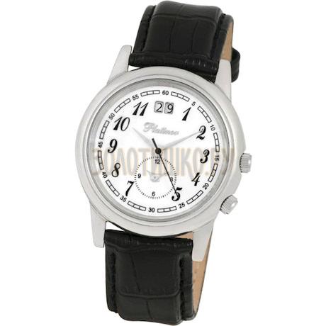 """Мужские серебряные часы """"Алекс"""" 40100.105"""