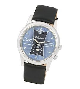 """Мужские серебряные часы """"Алекс"""" 40100.632"""