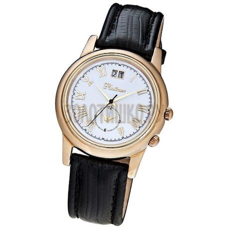 """Мужские золотые часы """"Алекс"""" 40150.116"""