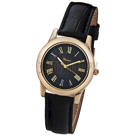"""Мужские золотые часы """"Рио"""" 40250.517"""