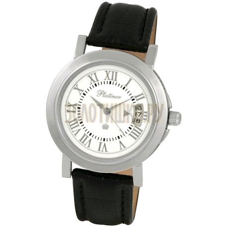 """Мужские серебряные часы """"Авиатор"""" 40800.119"""