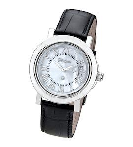 """Мужские серебряные часы """"Авиатор"""" 40800.319"""