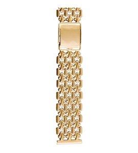 Золотой браслет для часов (20 мм) 42002
