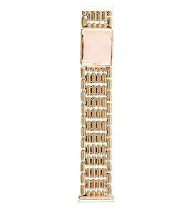 Золотой браслет для часов (20 мм) 42003