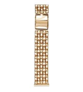 Золотой браслет для часов (20 мм) 42005