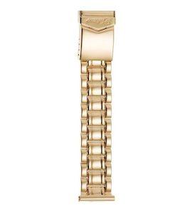 Золотой браслет для часов (20 мм) 42010-1