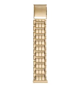 Золотой браслет для часов (20 мм) 42014