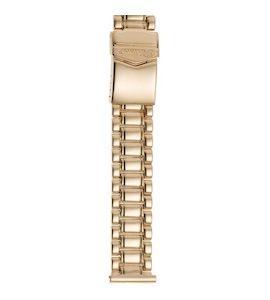 Золотой браслет для часов (20 мм) 42015-1