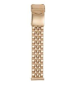 Золотой браслет для часов (20 мм) 42016-1