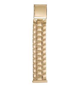 Золотой браслет для часов (20 мм) 42017