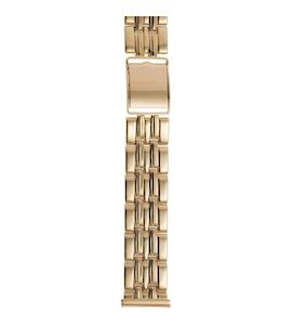 Золотой браслет для часов (20 мм) 42020