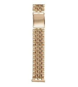 Золотой браслет для часов (20 мм) 42023