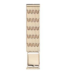 Золотой браслет для часов (20 мм) 42028