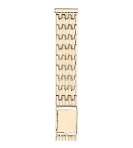 Золотой браслет для часов (20 мм) 42029