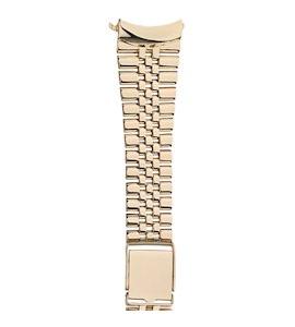 Золотой браслет для часов (24 мм) 42401.5.24-527