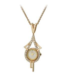 "Золотые часы-кулон ""Софи"" 44630-3.101"