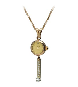 "Золотые часы-кулон ""Софи"" 44630-5.401"
