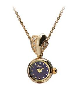 "Золотые часы-кулон ""Софи"" 44630-6.501"