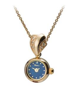 "Золотые часы-кулон ""Софи"" 44630-6.601"