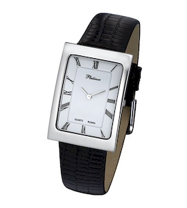 """Мужские серебряные часы Platinor """"Атлантида"""" 46000.115"""