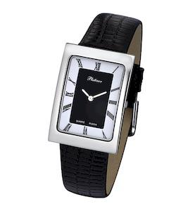 """Мужские серебряные часы Platinor """"Атлантида"""" 46000.118"""