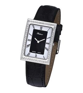 """Мужские серебряные часы Platinor """"Атлантида"""" 46006.118"""