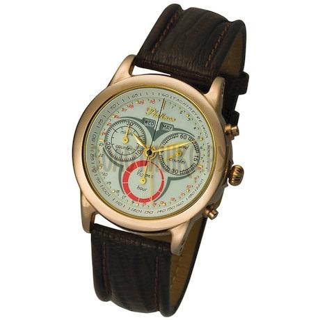 """Мужские золотые часы """"Сальвадор"""" 47150.101"""