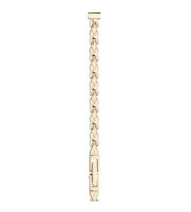 Золотой браслет для часов (6 мм) 50062