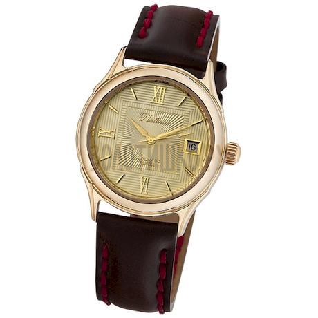 """Мужские золотые часы """"Сатурн"""" 50350.420"""