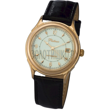 """Мужские золотые часы """"Юпитер"""" 50450.106"""