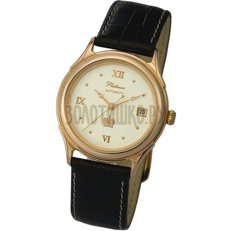 """Мужские золотые часы """"Юпитер"""" 50450.122"""