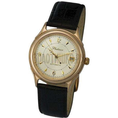 """Мужские золотые часы """"Юпитер"""" 50450.206"""