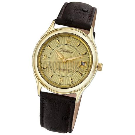 """Мужские золотые часы """"Юпитер"""" 50460.421"""
