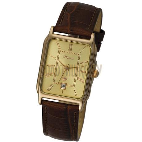 """Мужские золотые часы """"Манхэттен"""" 50850.420"""
