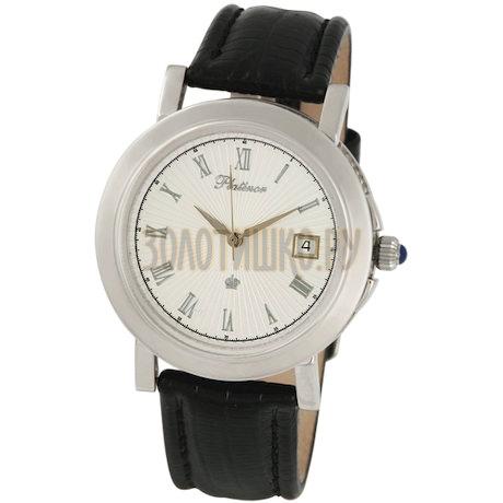 """Мужские серебряные часы """"Авиатор"""" 50900.221"""