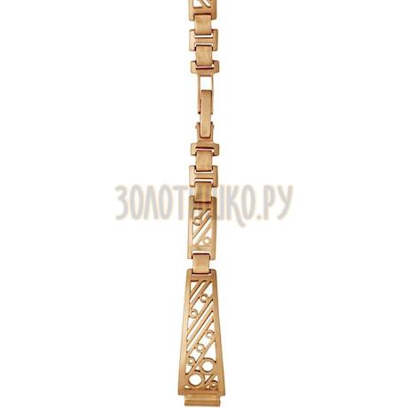 Золотой браслет для часов (8 мм) 5104003