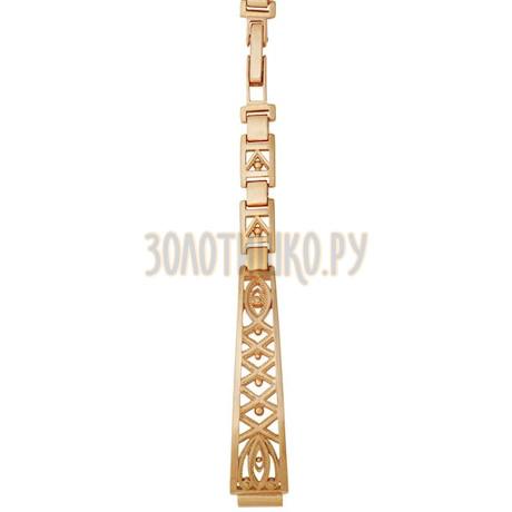 Золотой браслет для часов (8 мм) 5104005