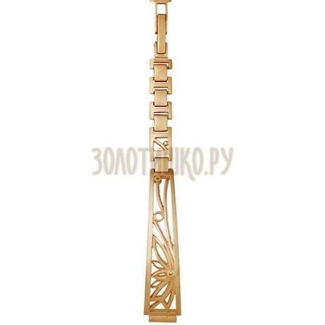 Золотой браслет для часов (8 мм) 5104006