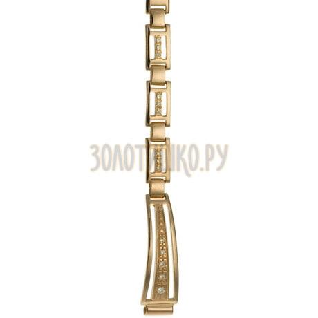 Золотой браслет для часов (8 мм) 5165008