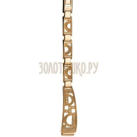 Золотой браслет для часов (8 мм) 5165019