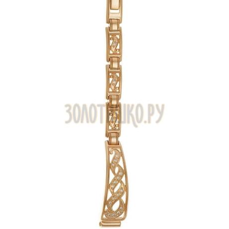 Золотой браслет для часов (8 мм) 5165024