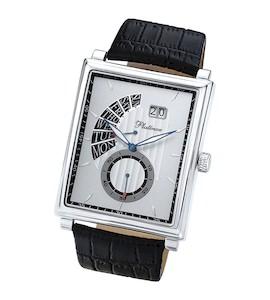 """Мужские серебряные часы """"Арсенал"""" 51700.228"""