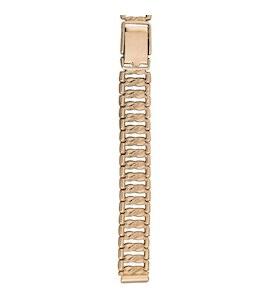 Золотой браслет для часов (10 мм) 52013