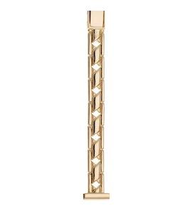 Золотой браслет для часов (12 мм) 53241