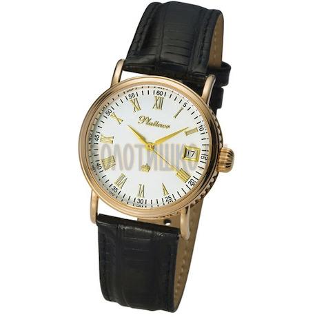 """Мужские золотые часы """"Нептун"""" 53550.115"""